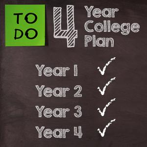 4 year college plan