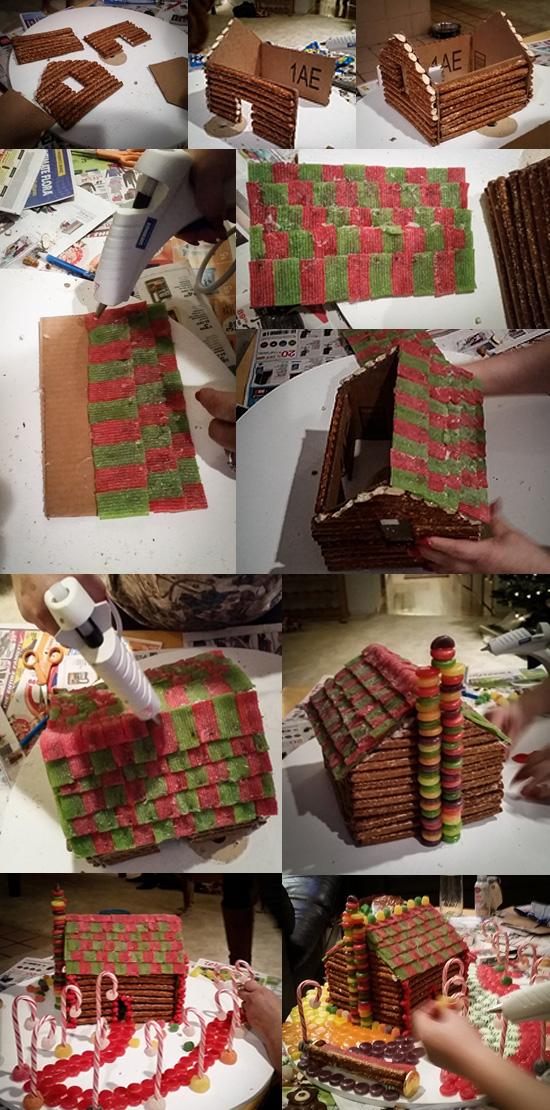 Those Who Can T Make Gingerbread Houses Make Pretzel Log