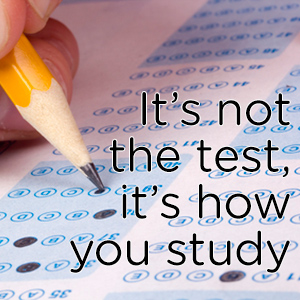 It's not the test